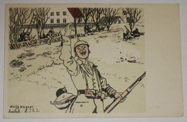 Postcard - 'Theaterspiel Der Hias'
