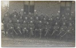 Groepsfoto Belgische soldaten