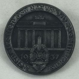 'Reichstreffen der NSKOV Berlin 1. August 1937' Tinnie