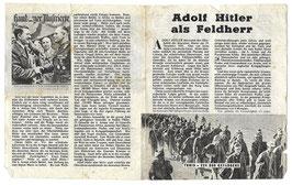 Geallieerd pamflet 'Adolf Hitler als Feldherr'