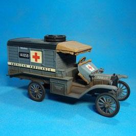 The Great War 1914-1918 - U.S. Ford T Ambulance 1918