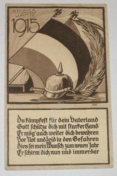 Postcard - 'Kriegsjahr 1915'