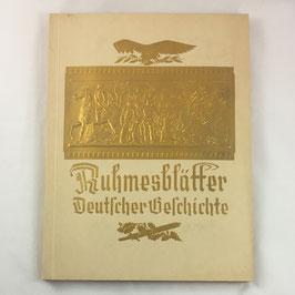 'Ruhmesblätter deutscher Geschichte'