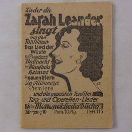 Monopol-Liederbücher - 1939