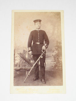 CDV German Soldier - Darmstadt II