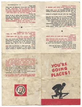 US Army - instructieblad
