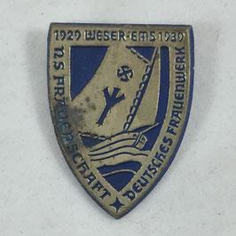 'NS Frauenschaft Deutsches Frauenwerk Weser-Ems 1929-1939' Tinnie