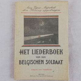 Het liederboek van den Belgischen Soldaat - 1939