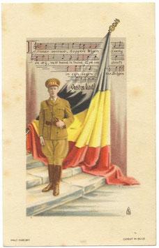 Patriottische prent 'Leopold III'