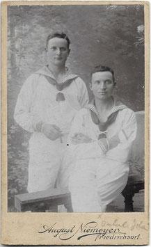 Twee Duitse marinesoldaten