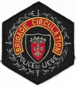 Brigade circulation - Police de Liege - patch