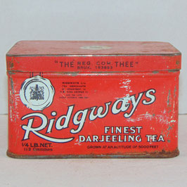 Tin Box 'Ridgways'