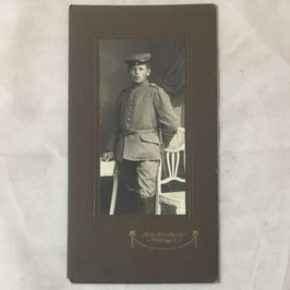 CDV Duits soldaat met 'Krätzchen'