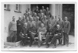 Groepsfoto hogere Duitse officieren