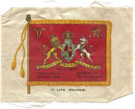 Zijdevlagje '1st Regiment of Life Guards'
