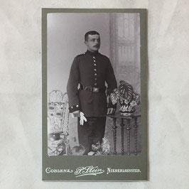 CDV Duits soldaat - Niederlahnstein