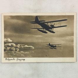 German postcard 'Wasserflugzeuge'