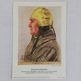 Print of Wolf Willrich - Oberstleutnant Schumacher 1940