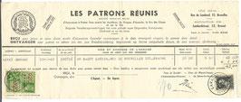 Belgisch verzekeringsbewijs - 1940