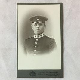 CDV Duits soldaat - Darmstadt