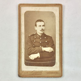 CDV One french soldier - Cherbourg