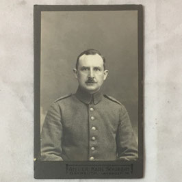 CDV Duits soldaat