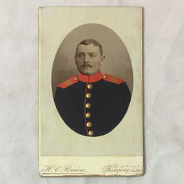 CDV German Soldier - Saarburg i/Loth.