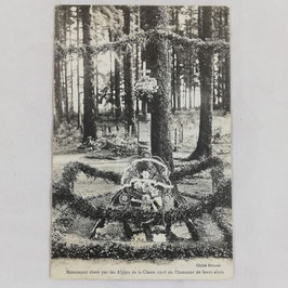 Monument élevé par les Alpins de la Classe 1916 en l'honneur de leurs ainés