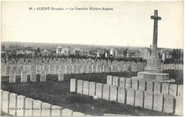 Albert (Somme) - Le Cimetière Militaire Anglais