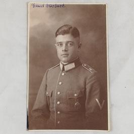 Duits soldaat met het 'Deutsches Reichssportabzeichen'