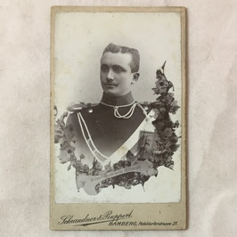 CDV German Soldier - Bamberg