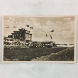 German postcard 'Chemnitz Flughafen'