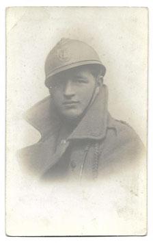 Belgische soldaat met helm