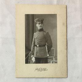 CDV Duits soldaat met 'Schützenschnur'