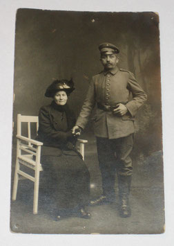 German soldier with wife