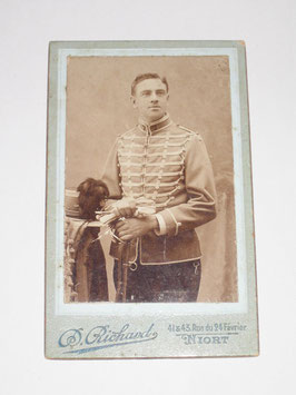 CDV French Soldier - Niort