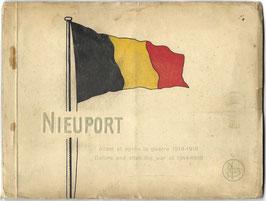 Postkaartenreeks 'Nieupoort' - Before and after the war of 1914-1918