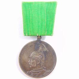 Regimentsmedaille - Kurhess. Jäg. B. N° 11 - 1913
