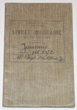 Belgian military pocket book - Interbellum