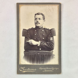 CDV One french soldier - Arras