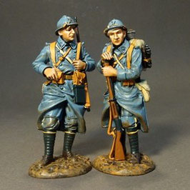 Battle of Amiens - 123e Regiment of Infantry, 2 PCDF standing