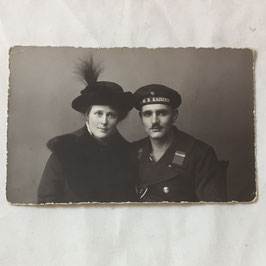 German sailor with wife
