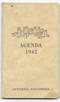 Civiele agenda - 1942