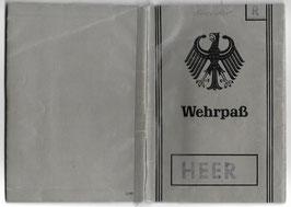 Bundeswehr - 'Wehrpaß'