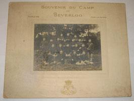 Souvenir du Camp de Beeverloo 1914 - Belgian Army