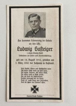 Deathcard of 'Ludwig Gasteiger'