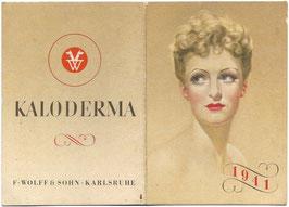 Kaloderma - kleine kalender - 1941
