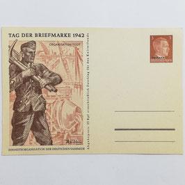 Tag der Briefmarke 1942 - Organisation Todt