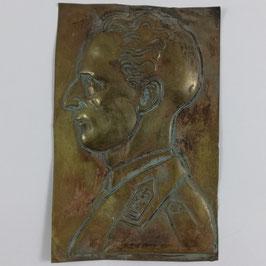 Plaket - Koning Leopold III