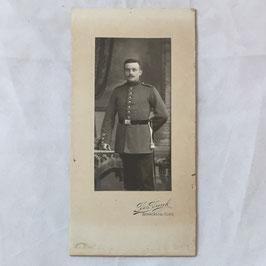 CDV Duits soldaat - Berncastel